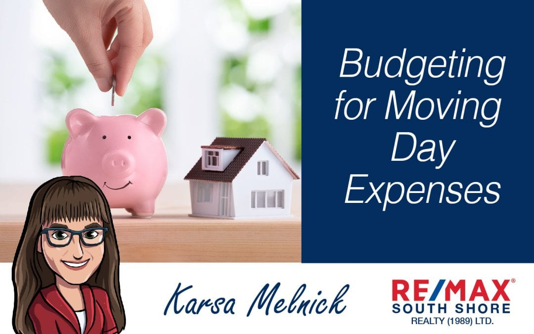 Budgeting for Moving Day Expenses