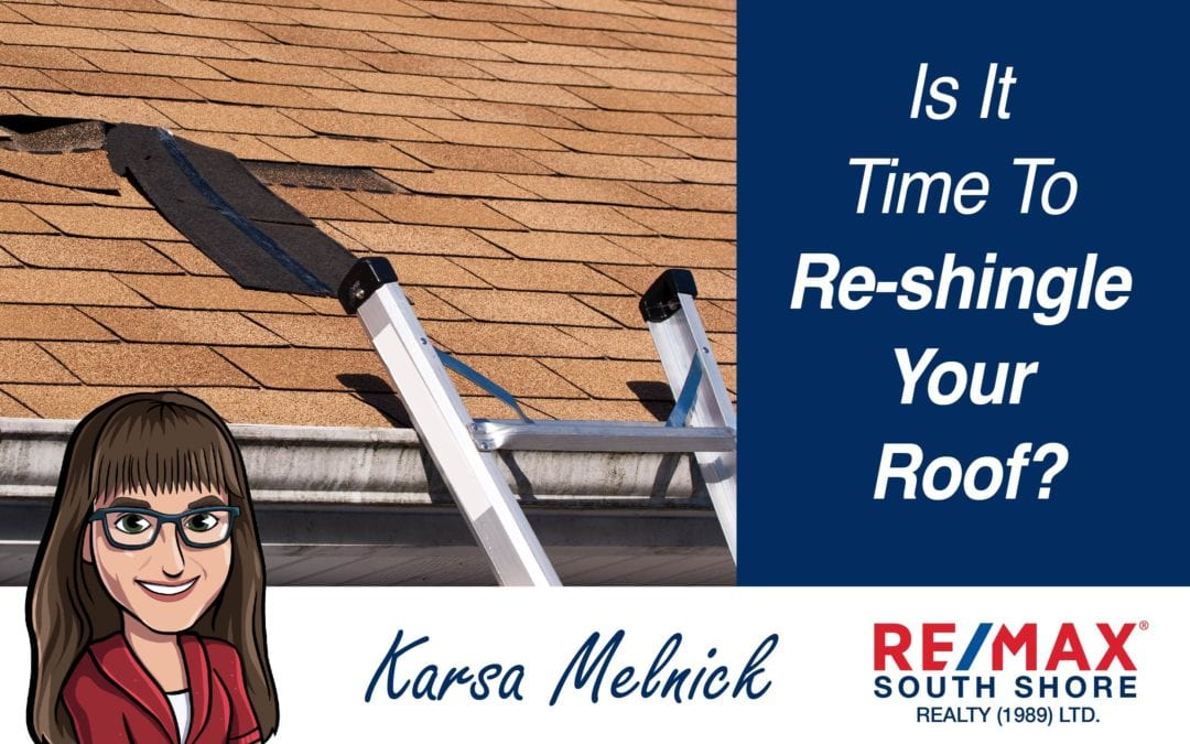 Is it Time to Re-Shingle Your Roof?